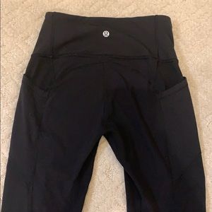 """Lululemon """"All the right places"""" legging"""